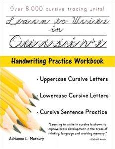 cursive writing 1