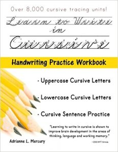 cursive writing 1