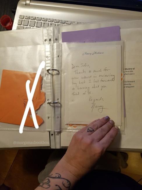 journal letter