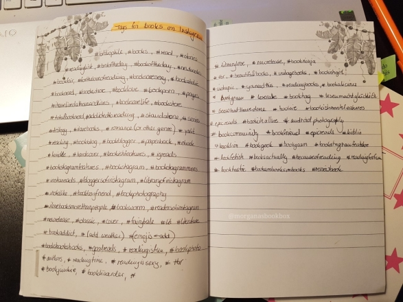 journal notes hashtag